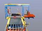 Schneid-Brech-Linie für halbe Floatformate