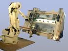 Automatische Modul Rahmungsstation mit Roboter